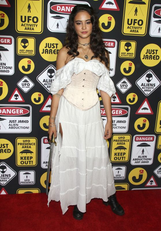 Courtney Eaton – Just Jared's Annual Halloween Party in Los Angeles 10/30/ 2016