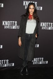 Courtney Eaton – Knott's Scary Farm Opening Night in Buena Park, CA 9/30/2016