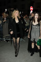 Courtney Love & Francis Bean Cobain at Givenchy Fashion Show in Paris 10/2/2016