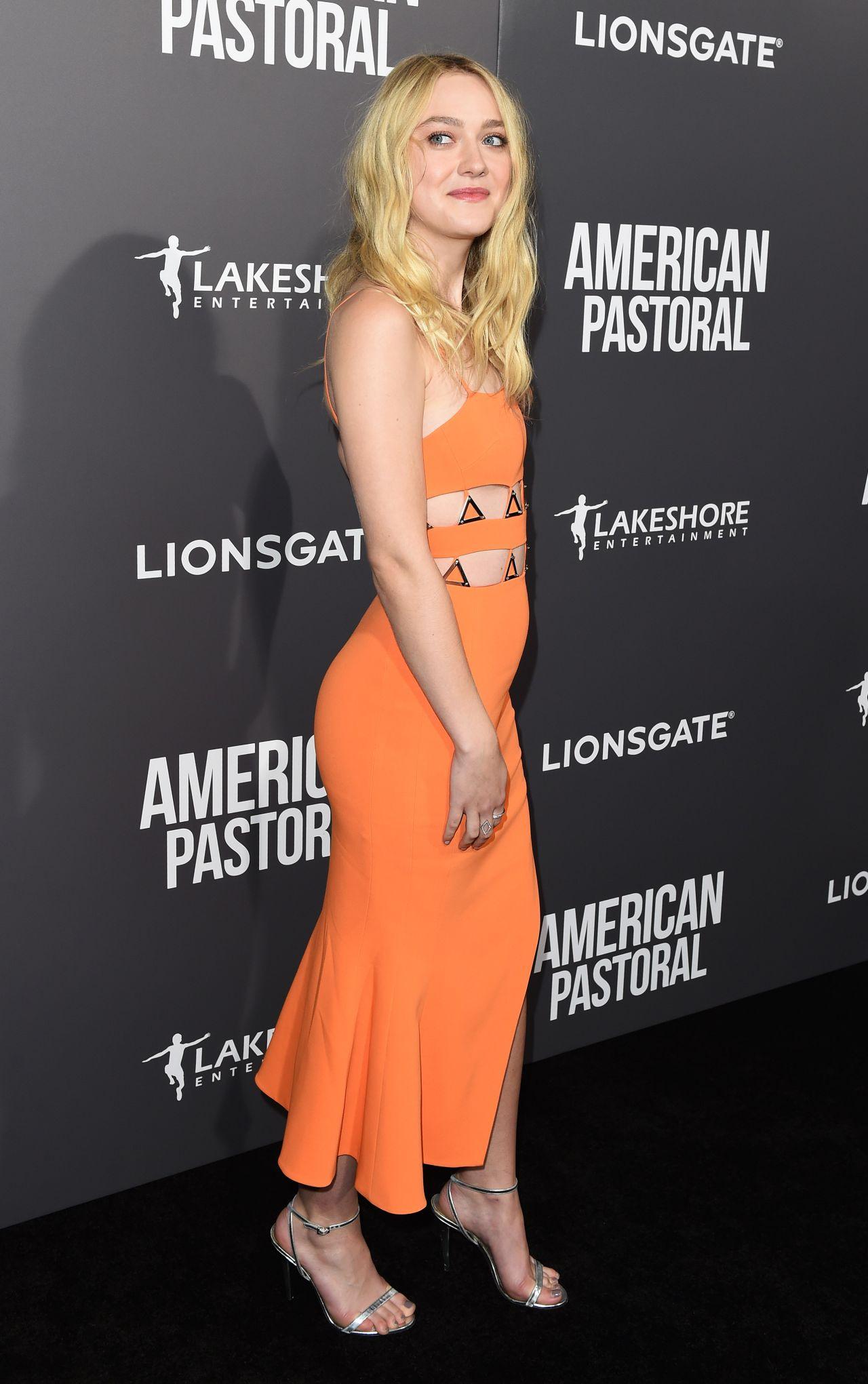 Dakota Fanning American Pastoral Premiere In Los Angeles