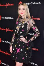 Dakota Fanning - Save the Children Illumination Gala in New York City 10/25/ 2016
