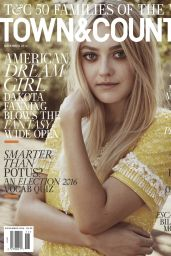Dakota Fanning - Town & Country Magazine November 2016