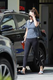 Dakota Johnson - Leaving a Nail Salon in Los Angeles 9/30/2016