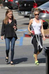 Denise Richards Sport Outfit - Out in Malibu 10/7/2016