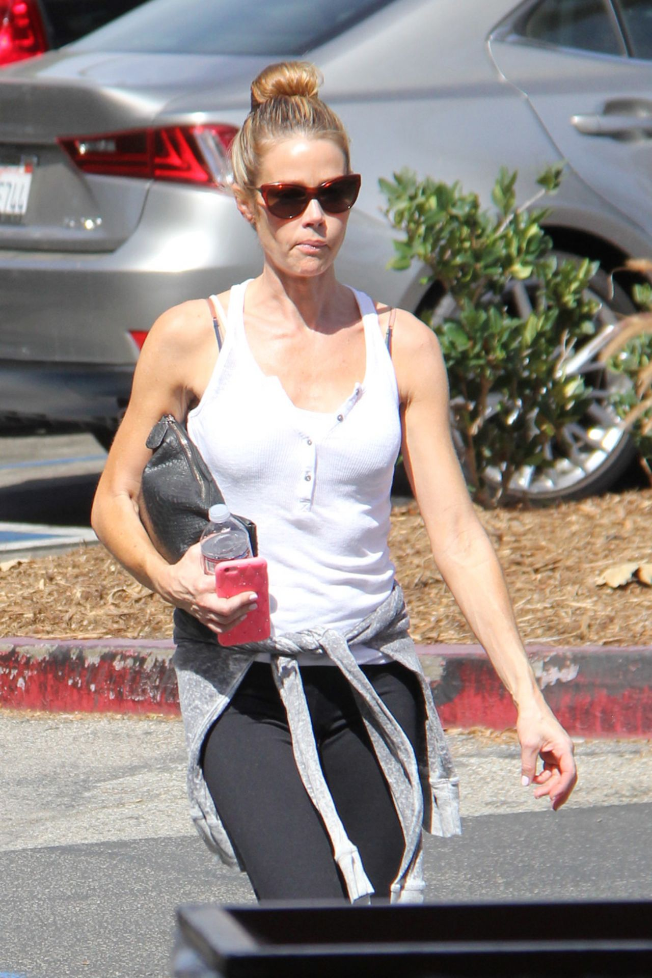 denise richards sport outfit  out in malibu 1072016