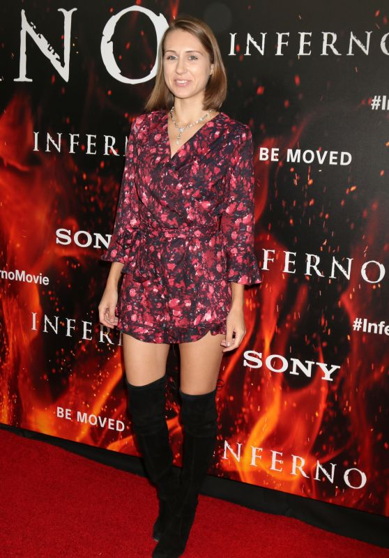 Diana Marks – 'Inferno' Premiere in Los Angeles