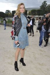 Diane Kruger - Elle Saab Fashion Show in Paris 10/1/2016
