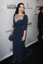 Dita Von Teese – 2016 amfAR Inspiration Gala at Milk Studios in Los Angeles