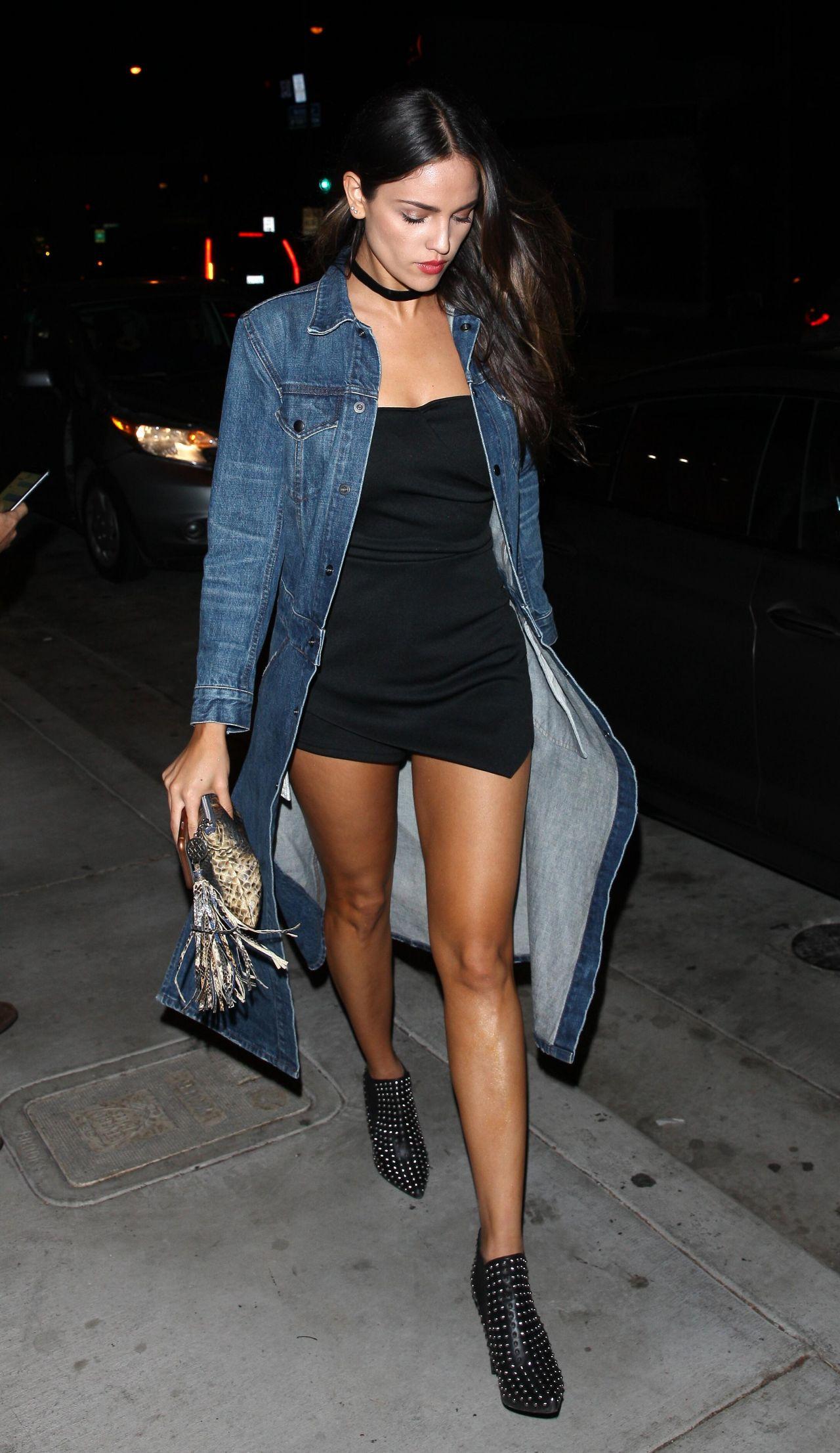Eiza Gonzalez Night Out Style Catch La In West Hollywood