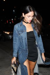 Eiza Gonzalez Night Out Style - Catch LA in West Hollywood 10/06/2016
