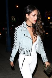 Eiza Gonzalez Night Out Style - Parties at The Delilah Club in West Hollywood 10/15/ 2016