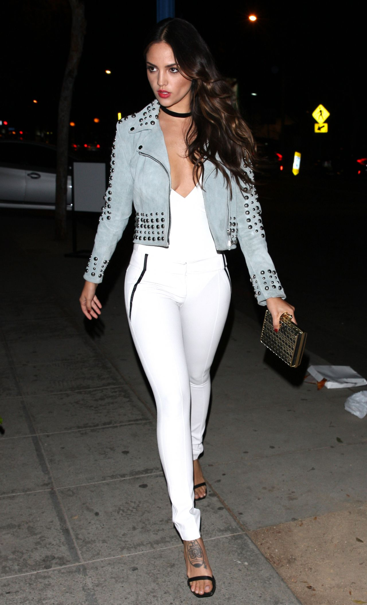 Eiza Gonzalez Night Out Style Parties At The Delilah