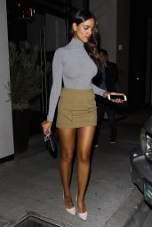 Eiza Gonzalez - Outside Catch LA in West Hollywood 10/1/2016