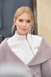 Elena Perminova Arrives at the Christian Dior Show – Paris Fashion Week 10/2/2016