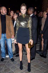 Elena Perminova – L'Oreal Gold Obsession Party in Paris 10/2/2016
