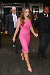 Elizabeth Hurley - Lights the Empire State Building for Breast Cancer Awareness Campaign in NY 9/30/2016