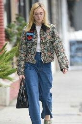 Elle Fanning - Out and About in Los Angeles, October 2016