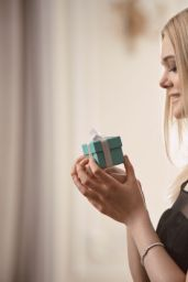Elle Fanning - Tiffany & Co. Holiday Campaign 2016 Photoshoot & Video