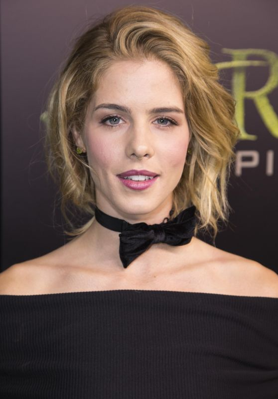 Emily Bett Rickards - Celebration Of 100th Episode of 'Arrow' in Vancouver 10/22/ 2016