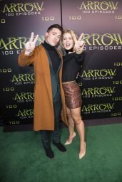 Emily Bett Rickards - Celebration Of 100th Episode of