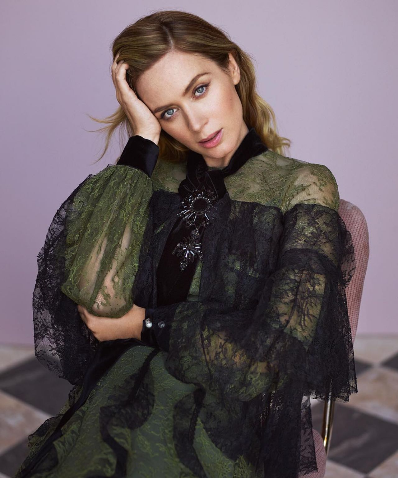 Emily Blunt – Photoshoot for InStyle November 2016