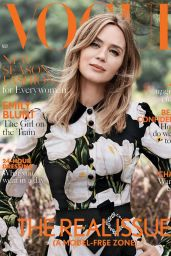 Emily Blunt - Vogue UK November 2016 Cover