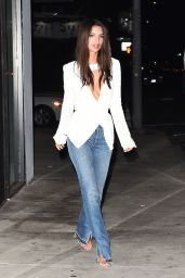 Emily Ratajkowski Night Out Style - Los Angeles - 10/13/ 2016