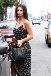 Emily Ratajkowski - Out in Los Angeles 10/11/2016