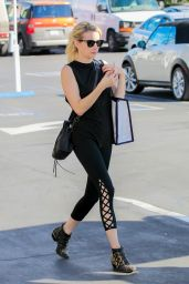 Emma Roberts - Out in Los Angeles 10/28/2016