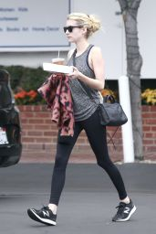Emma Roberts - Picking up Some Food to Go in West Hollywood 10/23/ 2016