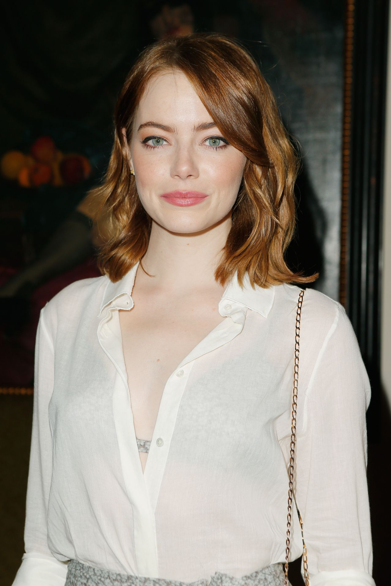 Emma Stone - CFDA Vogue Fashion Fund Show and Tea in ... Emma Stone
