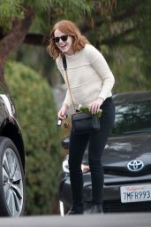 Emma Stone - Out in LA 10/27/2016