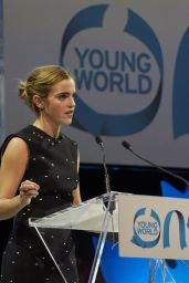 Emma Watson - Speaking at the One Young World Conference in Ottawa, September 2016