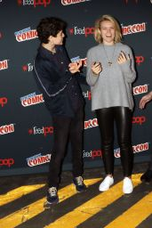 Erin Richards - Gotham Panel at New York Comic Con 10/8/2016