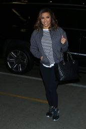 Eva Longoria Travel Outfit - LAX Airport 10/4/2016