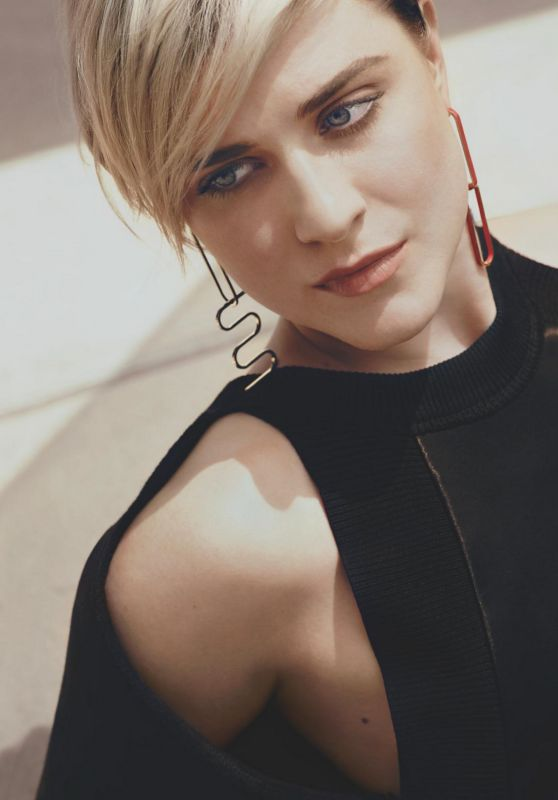 Evan Rachel Wood - InStyle Magazine Australia November 2016 Issue