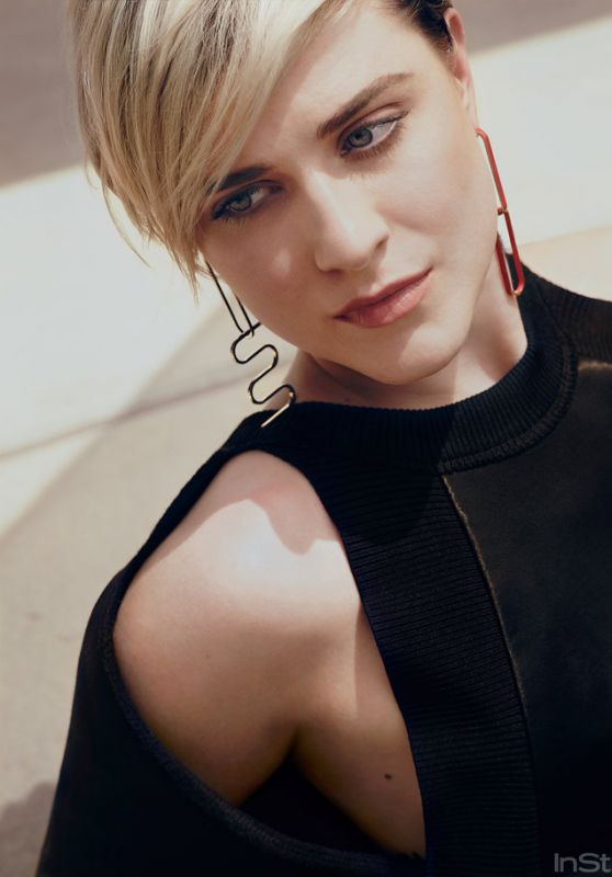 Evan Rachel Wood Photoshoot for InStyle, October 2016