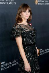 Felicity Jones – 2016 AMD British Academy Britannia Awards in Beverly Hills