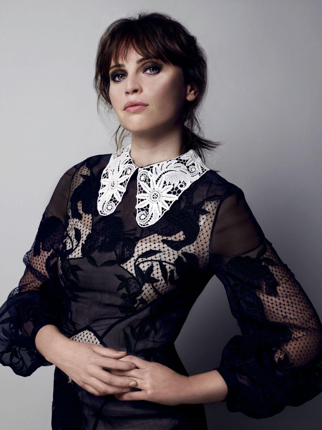 Felicity Jones - Photoshoot for The Telegraph October 2016