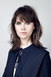 Felicity Jones - Photoshoot for The Telegraph October 2016