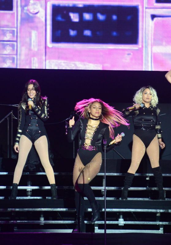 Fifth Harmony - Perform at 3Arena in Dublin, Ireland 10/4/2016