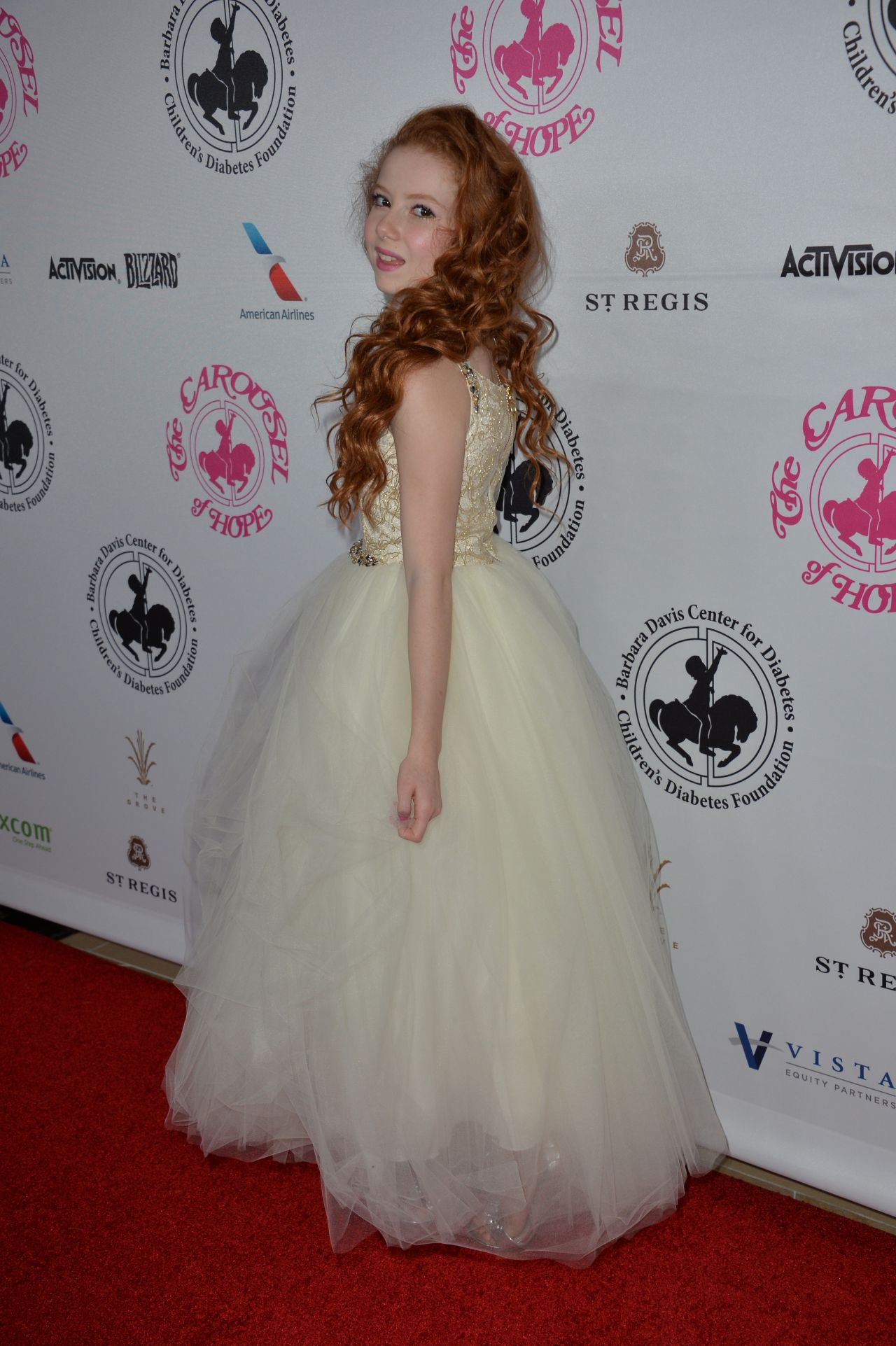 Francesca Capaldi – Carousel Of Hope Ball in Beverly Hills ...