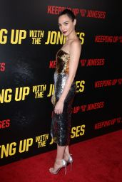 Gal Gadot – 'Keeping Up with the Joneses' Premiere in Los Angeles 10/8/2016