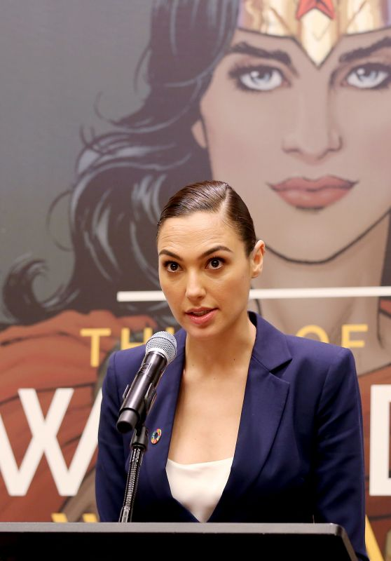 Gal Gadot - Wonder Woman United Nations Ambassador Ceremony in NYC - 10/21/2016