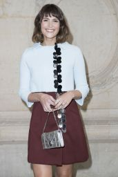 Gemma Arterton - Christian Dior Show - Paris Fashion Week 9/30/2016