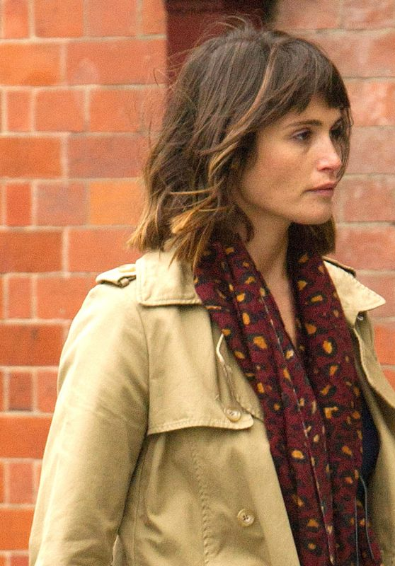 Gemma Arterton - Filming
