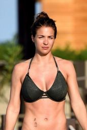 Gemma Atkinson in a Bikini at Melia Dunas Resort in Cape Verde, October 2016