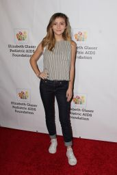 Genevieve Hannelius at Elizabeth Glaser Pediatric Aids Foundation Event in Los Angeles 10/23/ 2016