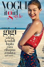 GiGi Hadid - Vogue It Girl Style 2016
