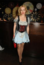 Gillian Anderson - UNICEF UK Halloween Ball 10/13/ 2016